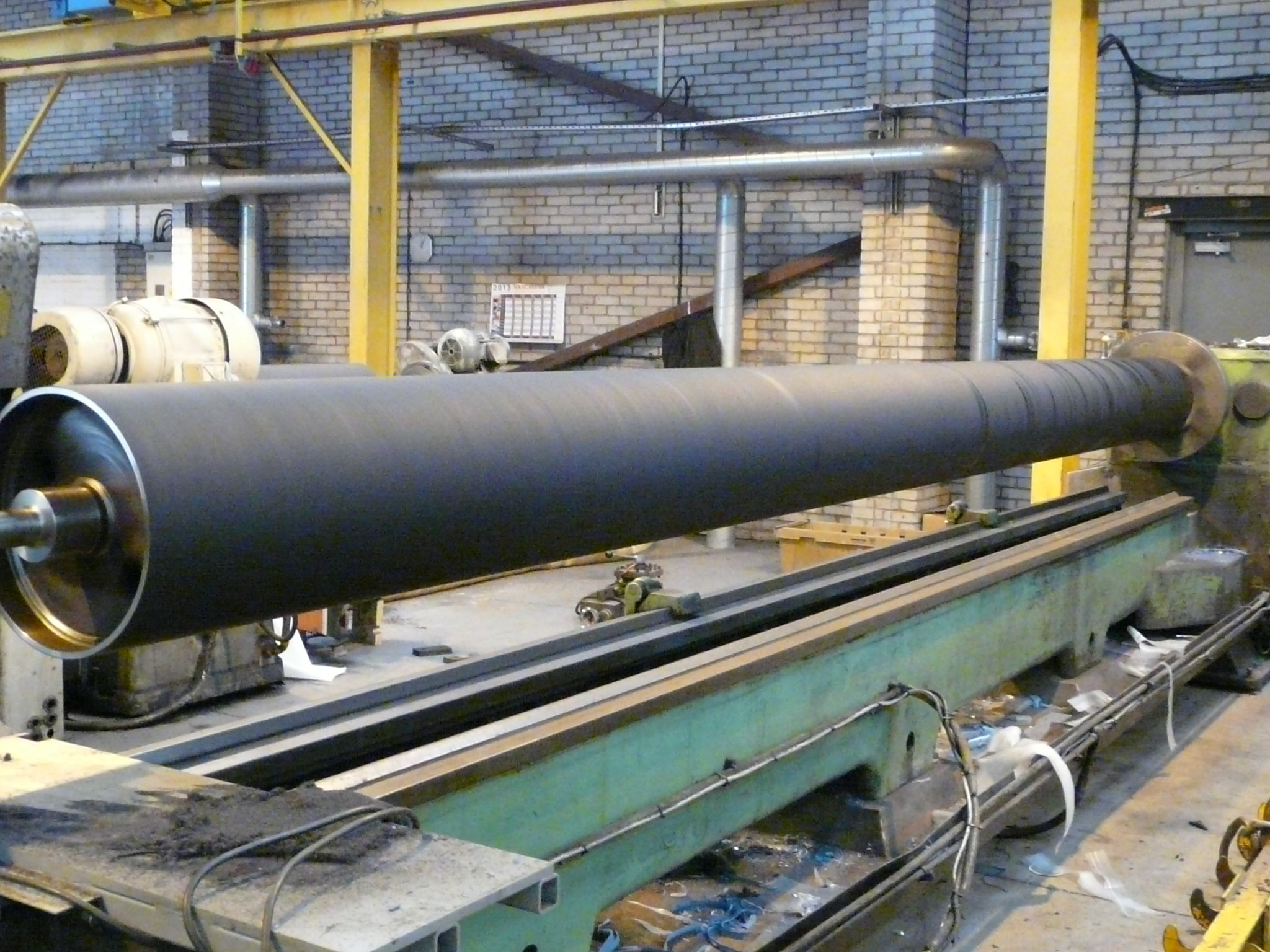 Industries Robant rubber rollers refurbish rollers for